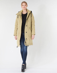 Kleidung Damen Parkas G-Star Raw NEW DUTY PDD HDD PARKA WMN Beige