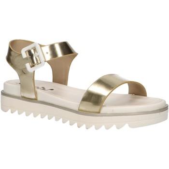Schuhe Mädchen Sandalen / Sandaletten Cheiw 47088 Gold