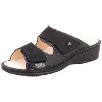 Schuhe Damen Pantoffel Finn Comfort Pantoletten Jamaika 2519-901486 schwarz