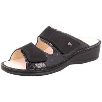 Schuhe Damen Pantoletten / Clogs Finn Comfort Pantoletten Jamaika 2519-901486 schwarz