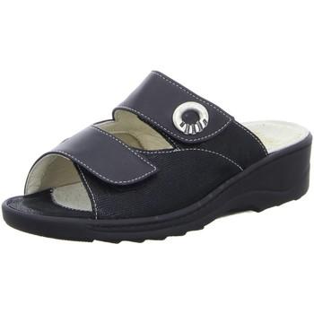 Schuhe Damen Pantoffel Fidelio Pantoletten 236011 236011/90 90 schwarz