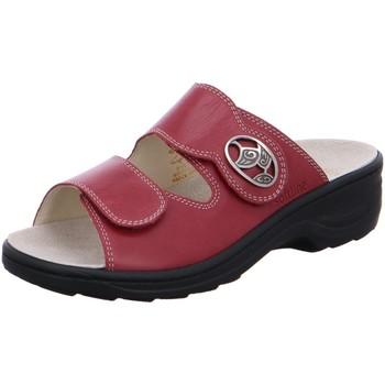 Schuhe Damen Pantoffel Fidelio Pantoletten Softline Pantolette HEDI 23411-67 rot