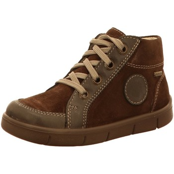 Schuhe Jungen Boots Superfit Schnuerstiefel 1-00426-10 braun