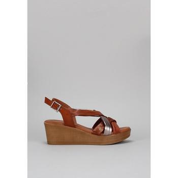 Schuhe Damen Sandalen / Sandaletten Sandra Fontan GOLFO Braun