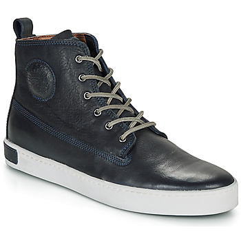Schuhe Herren Sneaker High Blackstone AM02 Marine