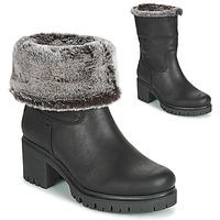 Schuhe Damen Low Boots Panama Jack PIOLA Schwarz