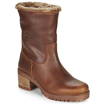 Schuhe Damen Low Boots Panama Jack PIOLA Braun