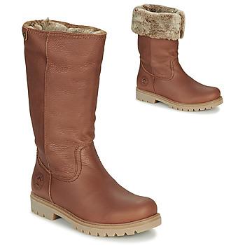 Schuhe Damen Klassische Stiefel Panama Jack BAMBINA Braun
