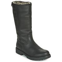 Schuhe Damen Klassische Stiefel Panama Jack BAMBINA Schwarz