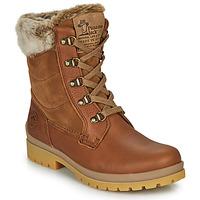 Schuhe Damen Boots Panama Jack TUSCANI Braun