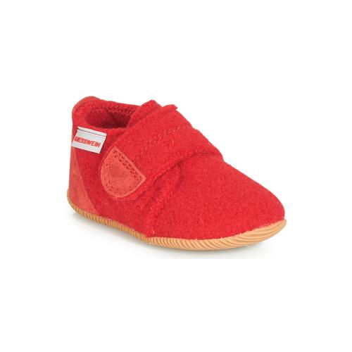 Schuhe Kinder Hausschuhe Giesswein OBERSTAUFFEN Rot