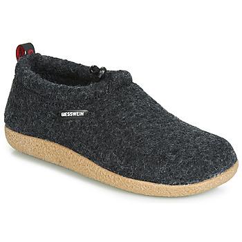 Schuhe Damen Hausschuhe Giesswein VENT Anthrazit