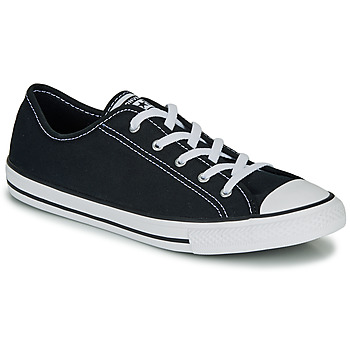Schuhe Damen Sneaker Low Converse CHUCK TAYLOR ALL STAR DAINTY GS  CANVAS OX Schwarz
