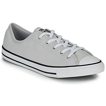 Schuhe Damen Sneaker Low Converse CHUCK TAYLOR ALL STAR DAINTY GS  CANVAS OX Grau