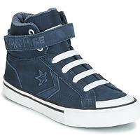 Schuhe Kinder Sneaker High Converse PRO BLAZE STRAP SPACE RIDE SUEDE HI Blau