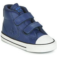 Schuhe Kinder Sneaker High Converse STAR PLAYER 2V ASTEROID LEATHER HI Blau