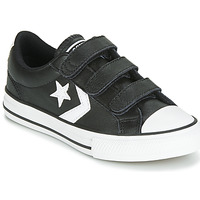 Schuhe Kinder Sneaker Low Converse STAR PLAYER EV 3V  LEATHER OX Schwarz