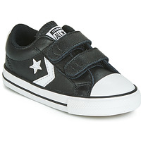 Schuhe Kinder Sneaker Low Converse STAR PLAYER EV 2V  LEATHER OX Schwarz