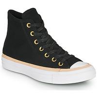 Schuhe Sneaker High Converse CHUCK TAYLOR ALL STAR VACHETTA LEATHER HI Schwarz