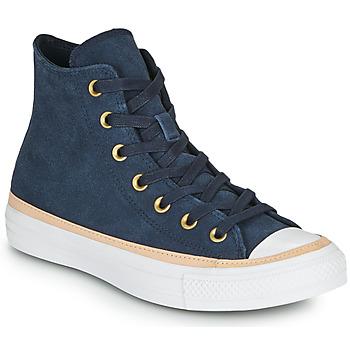 Schuhe Damen Sneaker High Converse CHUCK TAYLOR ALL STAR VACHETTA LEATHER HI Marine