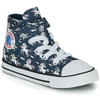 Schuhe Mädchen Sneaker High Converse CHUCK TAYLOR ALL STAR 1V UNICONS HI Blau