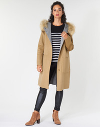 Kleidung Damen Mäntel Oakwood YALE BI Camel / Grau