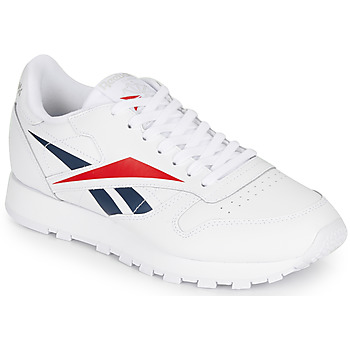 Schuhe Sneaker Low Reebok Classic CL LEATHER VECTOR Weiss