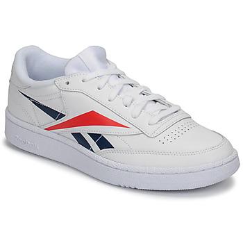 Schuhe Sneaker Low Reebok Classic CLUB C 85 MU Weiss