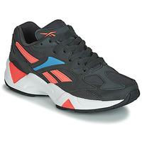 Schuhe Damen Sneaker Low Reebok Classic AZTREK 96 Schwarz / Korallenrot