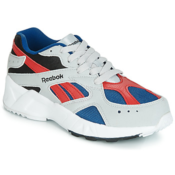 Schuhe Jungen Sneaker Low Reebok Classic AZTREK J Grau / Rot