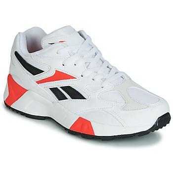 Schuhe Jungen Sneaker Low Reebok Classic AZTREK 96 J Weiss