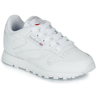 Schuhe Kinder Sneaker Low Reebok Classic CLASSIC LEATHER C Weiss