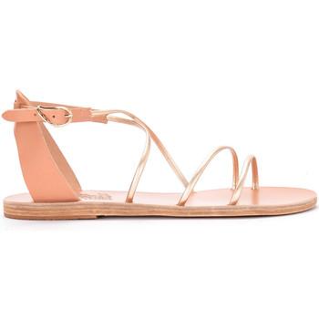 Schuhe Damen Sandalen / Sandaletten Ancient Greek Sandals Ancient Greek Sandaletten Meloivia aus Platinleder Gold