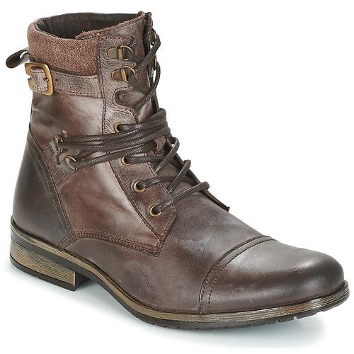 Schuhe Herren Boots Casual Attitude RIVIGH Braun