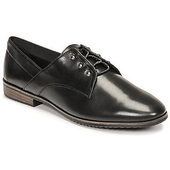 Schuhe Damen Derby-Schuhe Tamaris LYNA Schwarz