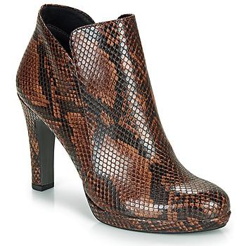 Schuhe Damen Low Boots Tamaris LYCORIS Braun