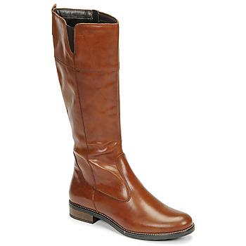 Schuhe Damen Klassische Stiefel Tamaris CARI Cognac