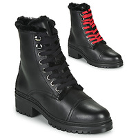 Schuhe Damen Boots Unisa IRACHE Schwarz