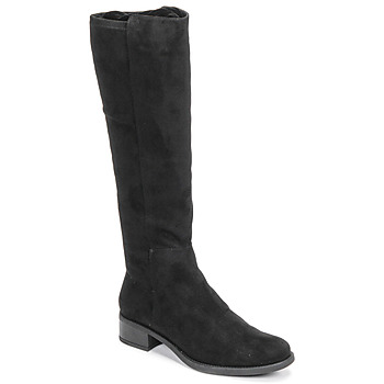 Schuhe Damen Klassische Stiefel Unisa ELIZA Schwarz