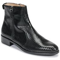 Schuhe Damen Boots Unisa BRAS Schwarz