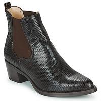 Schuhe Damen Low Boots Unisa GREYSON Braun
