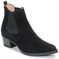 Schuhe Damen Low Boots Unisa GREYSON Schwarz