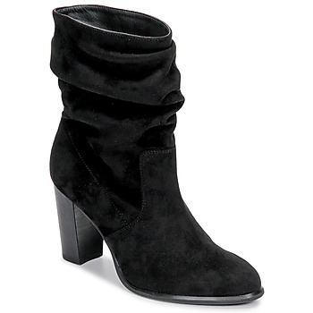 Schuhe Damen Low Boots Unisa ULANO Schwarz