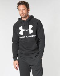 Kleidung Herren Sweatshirts Under Armour RIVAL FLEECE SPORTSTYLE LOGO HOODIE Schwarz
