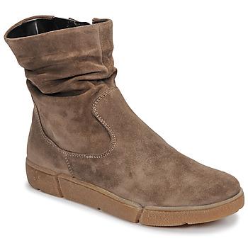 Schuhe Damen Boots Ara 14437-69 Maulwurf
