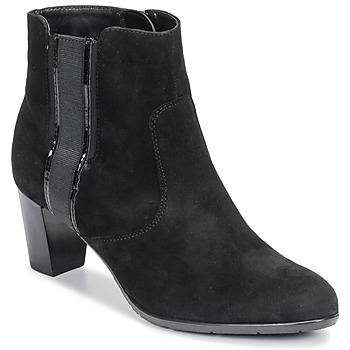 Schuhe Damen Low Boots Ara 43413-73 Schwarz