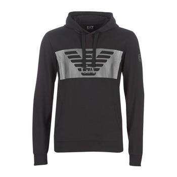 Kleidung Herren Sweatshirts Emporio Armani EA7 6GPM56-PJ05Z-1202 Schwarz