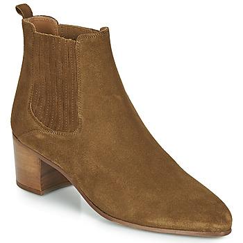 Schuhe Damen Low Boots Jonak DEBINA Cognac