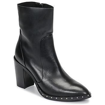 Schuhe Damen Low Boots Jonak DIBUNA Schwarz