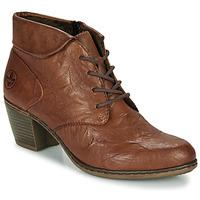 Schuhe Damen Low Boots Rieker Y2131-24 Braun